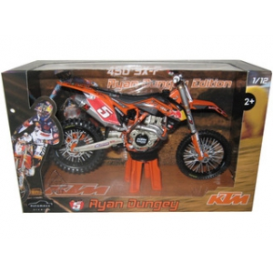 2012 Red Bull KTM 450 SX-F Ryan Dungey 5 Dirt Motorcycle Model 1/12 by Automaxx