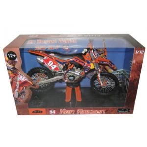 2013 Red Bull KTM 250 SX-F Ken Roczen 94 Dirt Motorcycle Model 1/12 by Automaxx