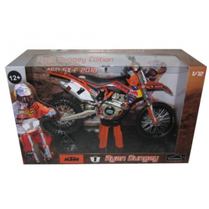2013 Red Bull KTM 450 SX-F Ryan Dungey 1 Dirt Motorcycle Model 1/12 by Automaxx
