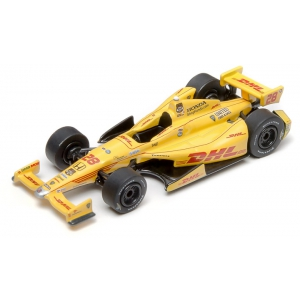 2014 Indy Car 28 Ryan Hunter-Reay 2014 Indianapolis 500 Champion / Andretti Autosport / DHL 1/64 Diecast Car Model by Greenlight