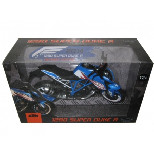 2014 KTM 1290 Super Duke R Patriots Edition Motorcycle Model 1/12 by Automaxx