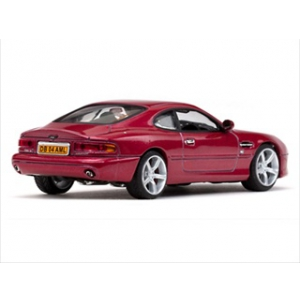 Aston Martin DB7 GT Torro Red Limited Edition 1 of 768 Produced Worldwide 1/43 Diecast Model by Vitesse