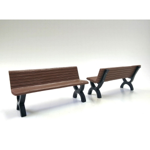 Bench Accessory 2 Pieces Set for 118 Scale Models by American Diorama