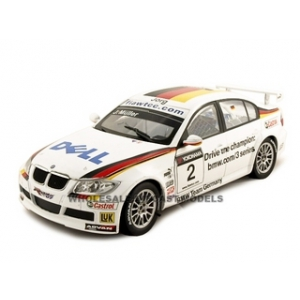 BMW 320Si Jorg Muller 2 Schnitzer 1/18 Diecast Model Car Model by Guiloy