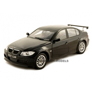 BMW 320Si WTCC Test Car Diecast Black 1/18 Diecast ModelCar by Guiloy