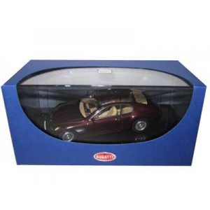 Bugatti EB 118 GENF 2000 Dark Red 1/43 Diecast Model Car by Autoart