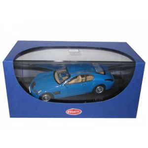Bugatti EB 118 Paris 1998 French Racing Blue 1/43 Diecast Model Car by Autoart