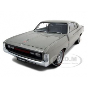 Chrysler Charger E49 Silver 1/18 Diecast Model Car by Autoart