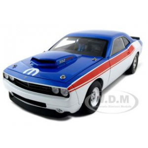 Dodge Challenger Concept R/T 392 Super Stock Red/White/Blue 1 of 600 Made 1/18 Diecast Model Car by Highway 61
