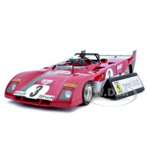 Ferrari 312P 312 P Targa Florio Winner 3 1/18 Diecast Car Model by GMP
