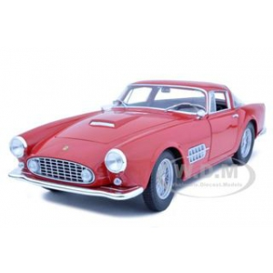 Ferrari 410 Superamerica Red 1/18 Diecast Car Model by Hotwheels