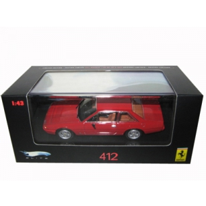 Ferrari 412 Red Limited Edition Elite 1/43 Diecast Model Car by Hotwheels