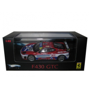 Ferrari F430 GTC 87 Red Elite Edition 1/43 Diecast Car Model by Hotwheels