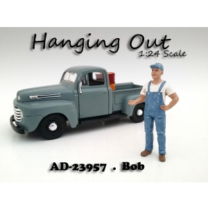"""Hanging Out"" Bob Figure For 124 Scale Models by American Diorama"