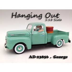 """Hanging Out"" George Figure For 118 Scale Models by American Diorama"