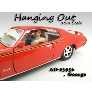 """Hanging Out"" George Figure For 124 Scale Models by American Diorama"
