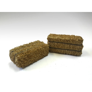 Hay Bale Accessory 2 Pieces Set for 124 Scale Models by American Diorama