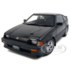 Honda Ballade CR-X Si  Black 1/18 Diecast Model Car by Autoart