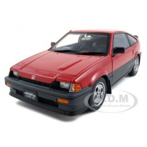 Honda Ballade CR-X Si Red1/18 Diecast Model Car by Autoart