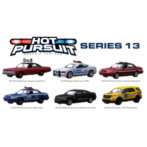 Hot Pursuit / Release 13 6pc Set 1/64 Diecast Model Cars by Greenlight