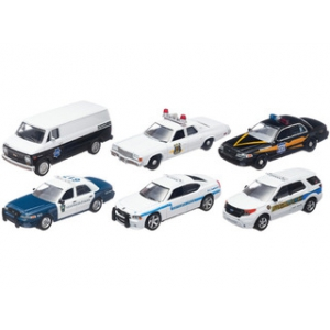 Hot Pursuit Series 11 6pc Set 1/64 Diecast Car by Greenlight