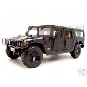 Hummer H1 Wagon  Black 1/18 Diecast Model Car by Maisto