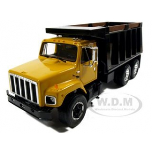 International S Series Dump Truck Yellow Diecast Model 1/25 by First Gear