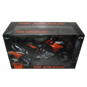 KTM 1190 Adventure Motorcycle Model 1/12 by Automaxx