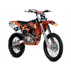 "KTM 450 SX-F 5 Ryan Dungey ""Red Bull"" 1/18 Dirt Motorcycle Model by Bburago"