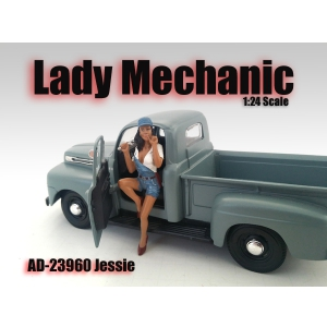 Lady Mechanic Jessie Figure For 124 Scale Models by American Diorama