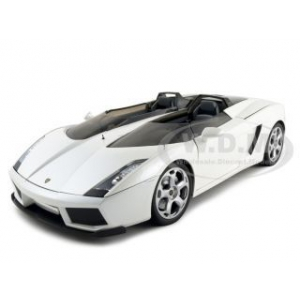 Lamborghini Concept S Pearl White 1/18 Diecast Car Model by Mondo