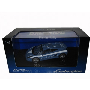 Lamborghini Gallardo Police 1/43 Diecast Model Car by Autoart