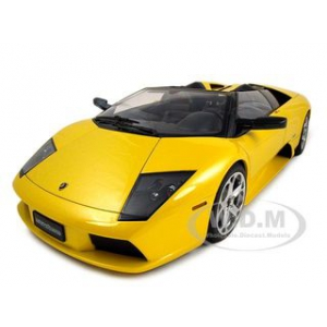 Lamborghini Murcielago Roadster Yellow 1/12 Diecast Car Model by Autoart