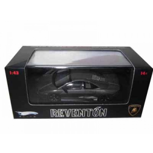 Lamborghini Reventon Flat Black Elite Limited Edition 1/43 Diecast Model Car by Hotwheels