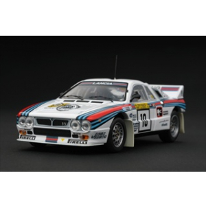 Lancia 037 10 Rally 1000 Lakes 1984 1/43 Diecast Car Model by HPi Racing