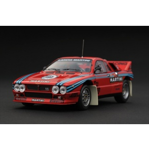 "Lancia 037 1985 Rally Test Car ""Martini"" 1/43 Diecast Car Model by HPI"