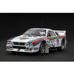 Lancia 037 2 Rally 1000 Lakes 1983 1/43 Diecast Car Model by HPi Racing