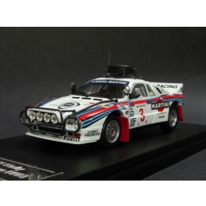 Lancia 037 3 1986 Rally Safari 1/43 Diecast Car Model by HPi Racing