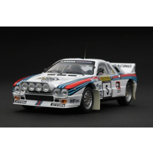 Lancia 037 5 1983 Rally 1000 Lakes P.Airikkala/J.Piironen 1/43 Diecast Model by HPi Racing