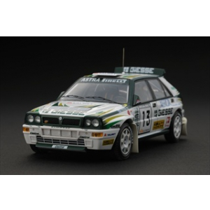 Lancia Delta HF Integrale 13 1993 Rally 1000 Lakes T.Makinen / S.Harjanne 1/43 Diecast Car Model by HPi Racing