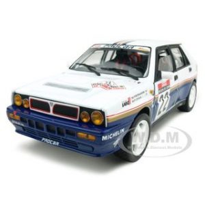 Lancia Delta HF Integrale 22 P.Bernardini/P.Dran 1 of 1500 Produced 1/18 Diecast Car Model by Sunstar