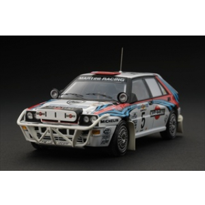 "Lancia Delta HF Integrale 5 ""Martini"" J.Recalde / M.Christie 1992 Rally Safari 1/43 Diecast Model Car by HPi Racing"
