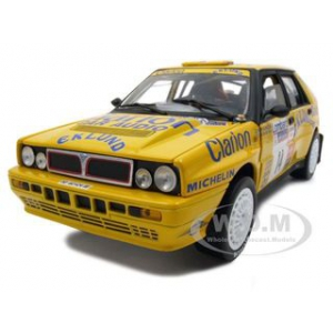 Lancia Delta HF Integrale16V 14 P.Eklund/J.O Bohli LR Rally 1990 1 of 852 Produced 1/18 Diecast Car Model by Sunstar