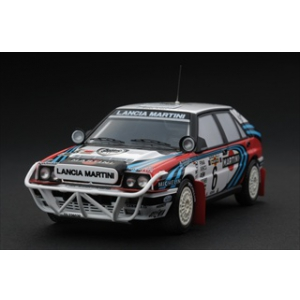 "Lancia Delta Integrale HF 16V 6 1991 Rally Safari Team ""Martini"" J.Kankkunen/J.Piironen 1/43 Diecast Model Car by HPi Racing"