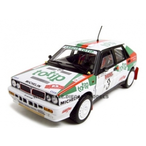 Lancia Delta Integrale HF 8V 3 A.Fiorio/L.Pirollo 1/18 Diecast Model Car by Sunstar