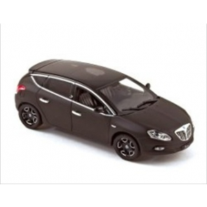 Lancia Delta Matt Black Geneva Auto Show 2009 1/43 Diecast Model Car by Norev
