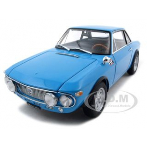 Lancia Fulvia 1.6HF Fanal One Blue 1/18 Diecast Model Car by Autoart