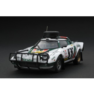 Lancia Stratos HF 6 1976 Rally Safari 1/24 Diecast Car Model by HPi Racing