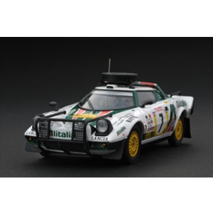 Lancia Stratos HF 7 1977 Rally Safari 1/43 Diecast Car Model by HPi Racing