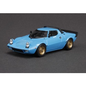 Lancia Stratos HF Stradale Light Blue 1/43 Diecast Model Car by HPi Racing
